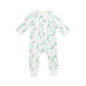 Cute Koalas Organic Long Sleeve Sleepsuit with Zip