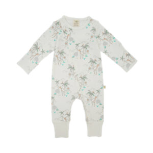 Forest Friends Organic Zip Growsuit