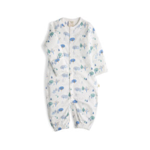 Arctic Trail Organic Convertible Sleepsuit