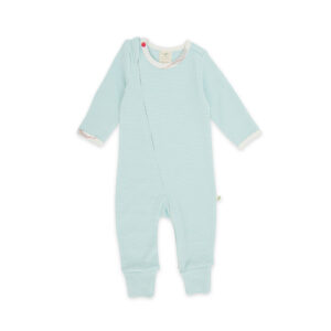 Intergalactic Organic Long Sleeve Sleepsuit with Zip