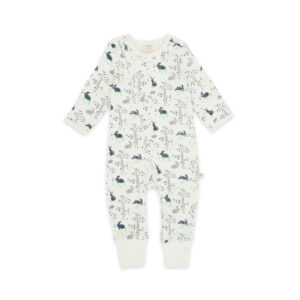 Garden Helper Organic Long Sleeve Sleepsuit with Zip