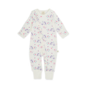 Into the Woods Organic Long Sleeve Sleepsuit with Zip