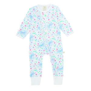 Zip Coveralls - Butterfly