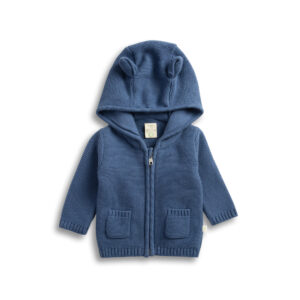 Sapphire - Knitted Hoodie