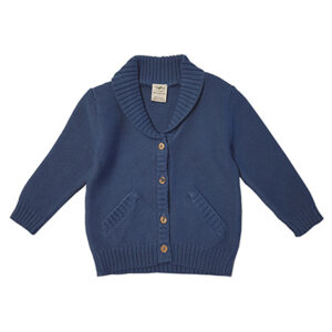 Knitted Cardigan - Saphire