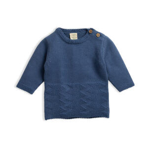 Knitted-Cardigan-Sapphire-Front