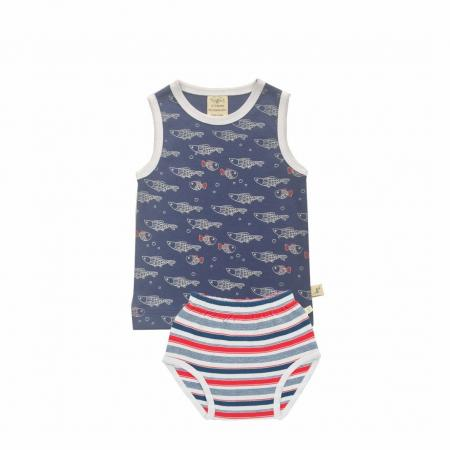 Singlet-Set-Little-Fish-Mariner-Stripes