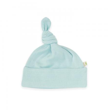 Knotted-Beanie-Coolblue-Stripes