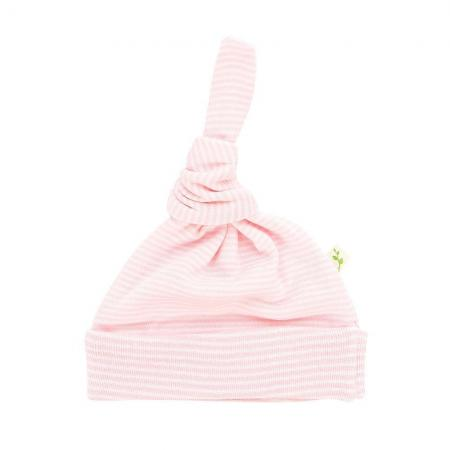19_-_Knotted_Beanie_-_Soft_Pink_Stripes