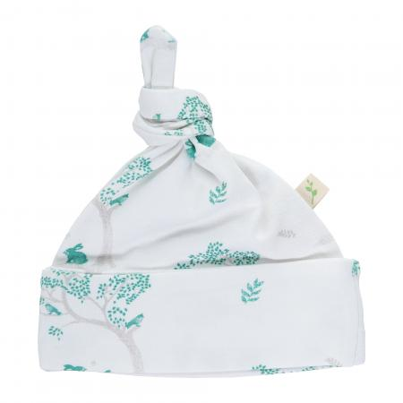 Knotted Beanie - Bunny Print