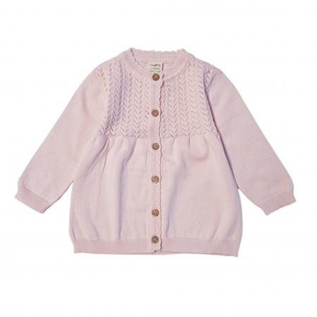Knitted Cardigan - soft pink